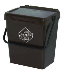 bidoncini pattumiera raccolta differenziata Linea Biosystem Art Plast BS30-M