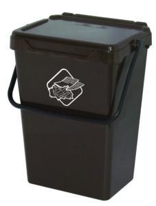 bidoncini pattumiera raccolta differenziata Linea Biosystem Art Plast BS35-M
