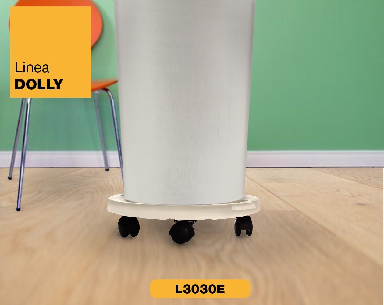 Carrello piattaforma con ruote Linea Dolly Art Plast L3030E