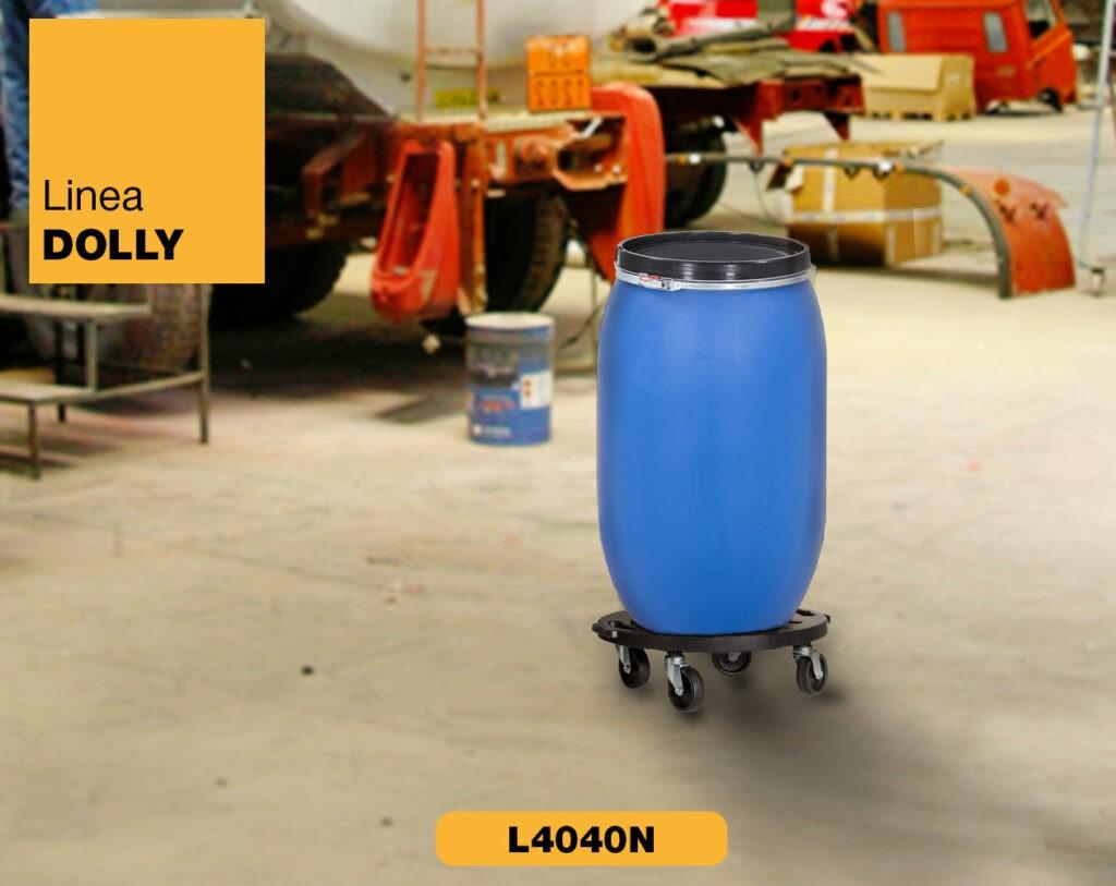 Carrello piattaforma con ruote Linea Dolly Art Plast L4040N_2