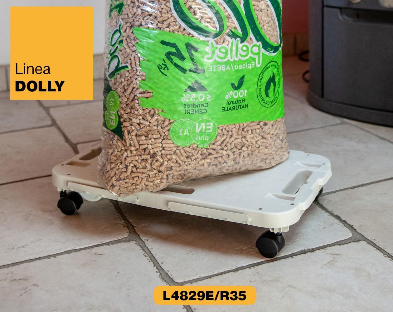 Carrello piattaforma con ruote Linea Dolly Art Plast L4829E-R35_2