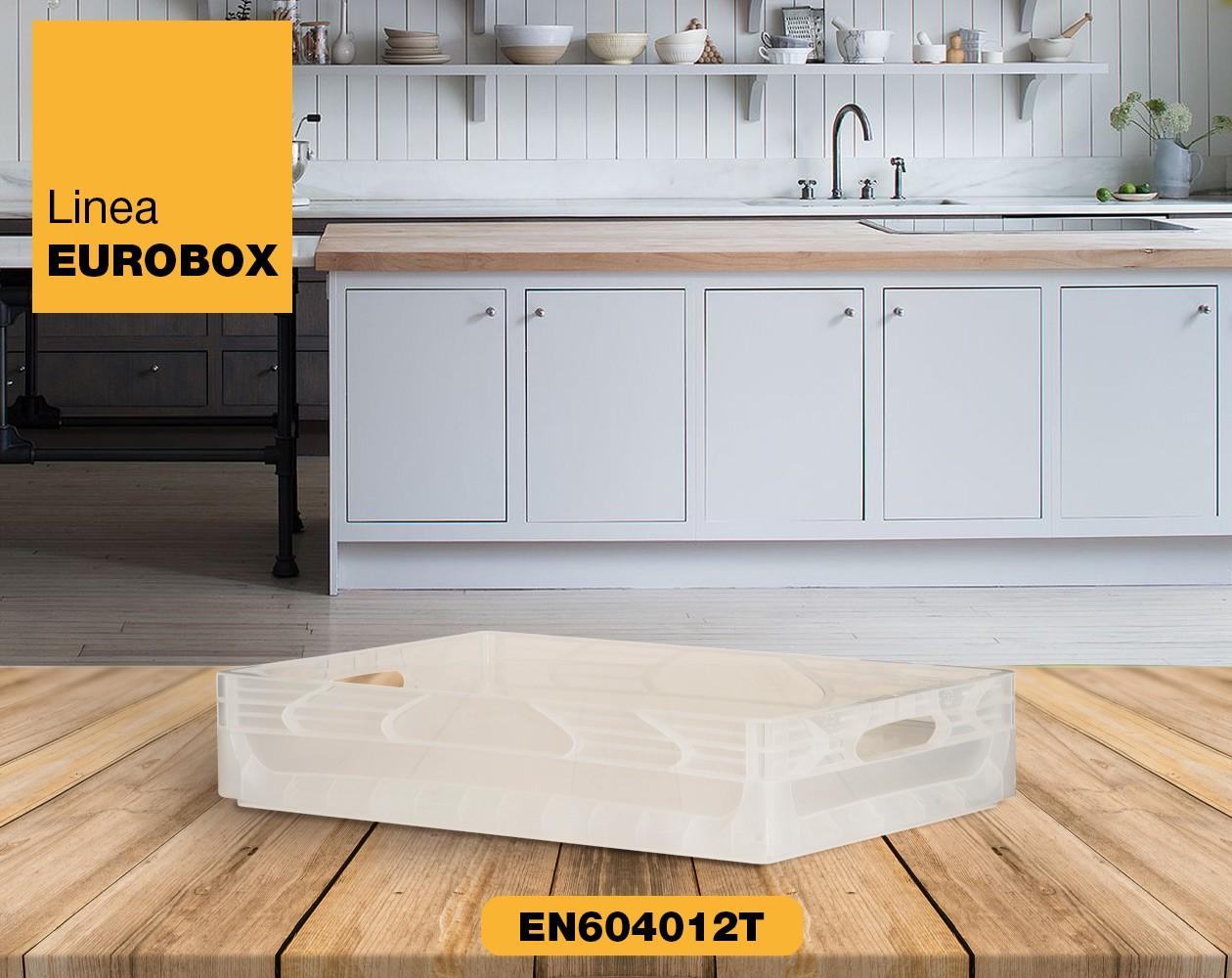 Contenitore in plastica per alimenti EUROBOX EN604012T