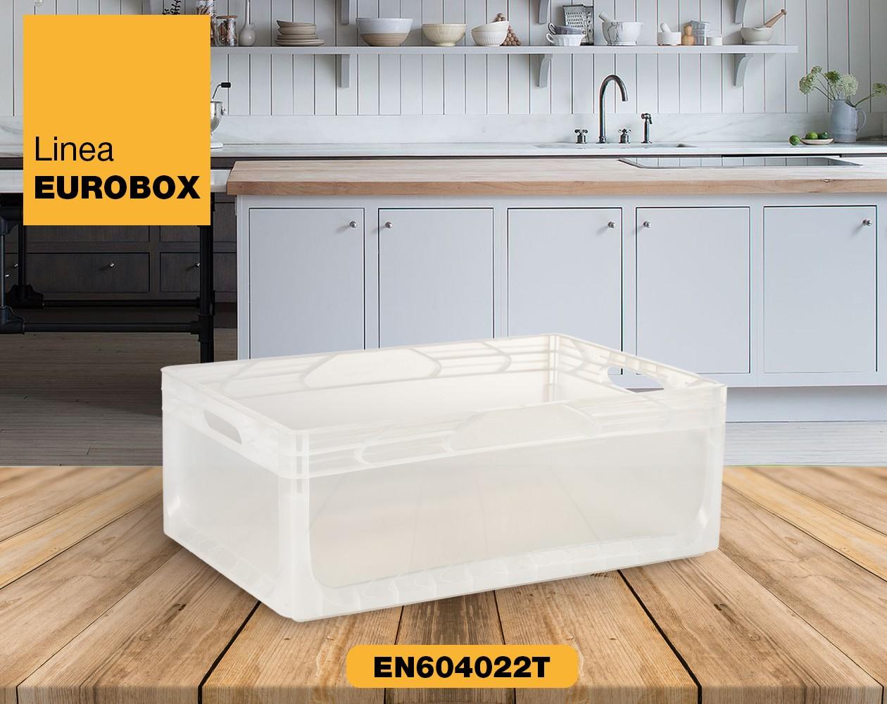 Contenitore in plastica per alimenti EUROBOX EN604022T