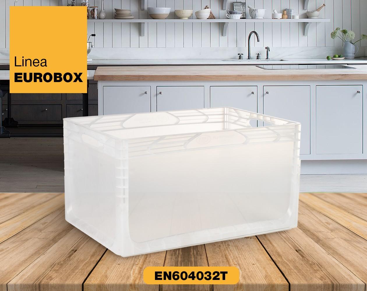 Contenitore in plastica per alimenti EUROBOX EN604032T