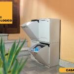 contenitori raccolta differenziata Linea Eco-Logico