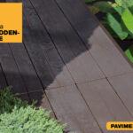 Pavimento in plastica effetto legno Linea Woodenlike