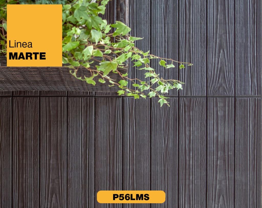 piastrella in plastica effetto legno Linea Marte Linear marrone