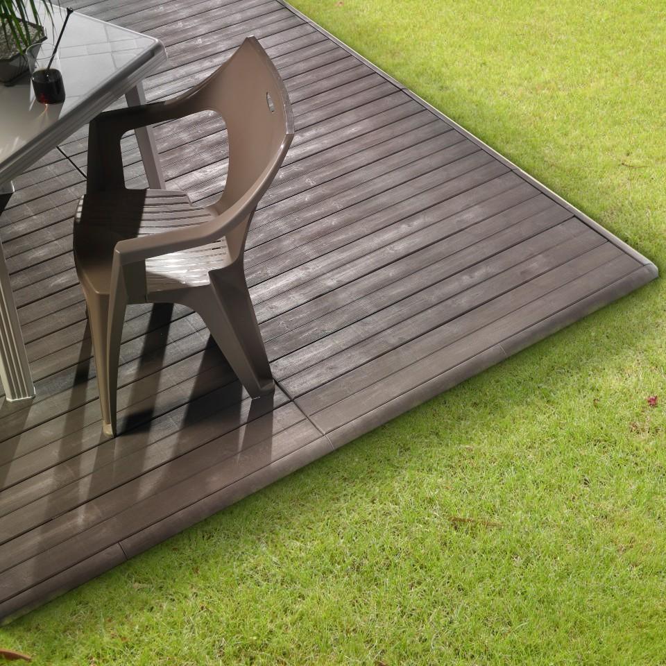 Pavimento in plastica Art Plast effetto legno Linea Woodenlike ambientata